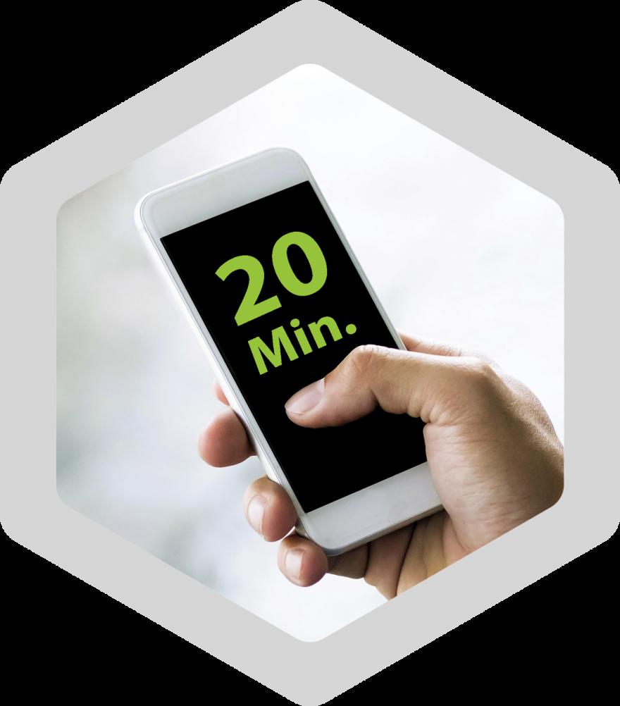 Icon 20 Minuten | EMA Fitness bixpack